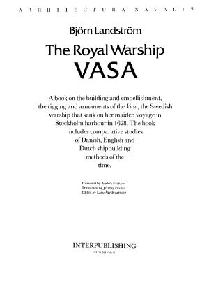 The Royal Warship Vasa