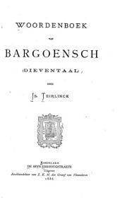 Woordenboek van Bargoensch (dieventaal).