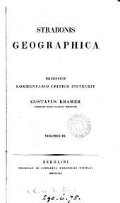 Strabonis Geographica: Τόμος 3