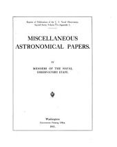 Miscellaneous Astronomical Papers: Volume 6