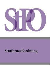 Strafprozebordnung (StPO) (Австрия)