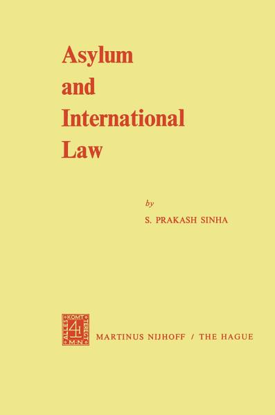 Download Asylum and International Law Book