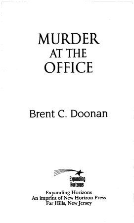 Murder at the Office PDF