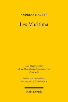 Lex Maritima PDF