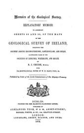 Explanatory Memoir to Accompany Sheets of the Maps: Volumes 89-90