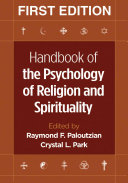 Handbook of the Psychology of Religion and Spirituality  First Edition PDF