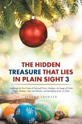 The Hidden Treasure That Lies in Plain Sight 3: Exploring the True Name of God and Christ, Holydays, the Image of Christ, Pagan Holidays, Days and Months, and Identifying of the 12 Tribes