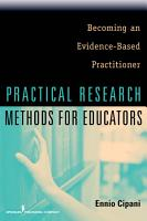 Practical Research Methods for Educators PDF