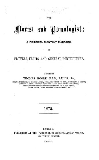 Florist and Pomologist PDF