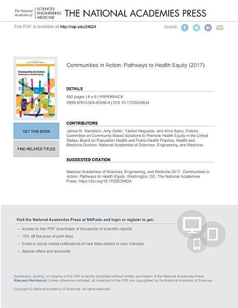 Download Communities in Action Book