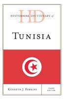 Historical Dictionary of Tunisia PDF