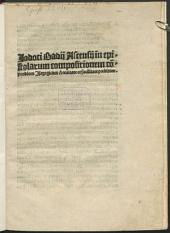 In epistolarum compositionem compendium isagogicum
