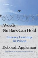 Words No Bars Can Hold  Literacy Learning in Prison PDF