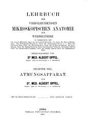 Lehrbuch der vergleichenden mikroskopischen anatomie der wirbeltiere: Band 6