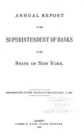 Annual Report of the Superintendent of the Banking Department of the State of New York: Part 4