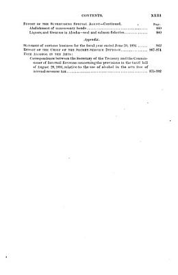 Report of the Secretary of the Treasury on the State of the Finances PDF