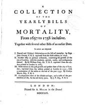 Tables Shewing the Number of Deaths Occasioned by the Small-pox in the Several Periods of Life, and Different Seasons of the Year, ... Extracted from the Register of the Collegiate Or Parish Church in Manchester, and from Other Bills of Mortality, by Dr. Percival