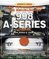 How to Power Tune the BMC BL Rover 998 A Series Engine for Road and Track PDF