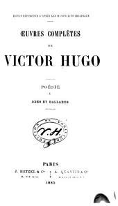 Œuvres complètes: Volume1