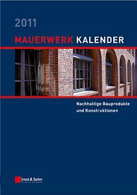 Mauerwerk Kalender 2011 PDF