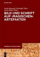 Bild und Schrift auf  magischen  Artefakten PDF