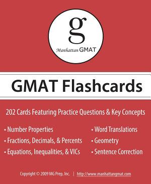 Manhattan GMAT Flashcards