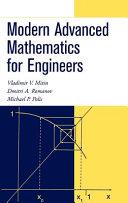 Modern Advanced Mathematics for Engineers