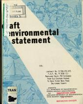 MD-702 Extended from Old Eastern Ave to Back River Neck Road, Baltimore County: Environmental Impact Statement