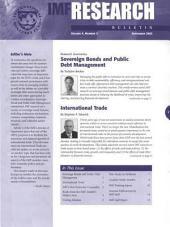 IMF Research Bulletin, September 2003