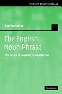 The English Noun Phrase