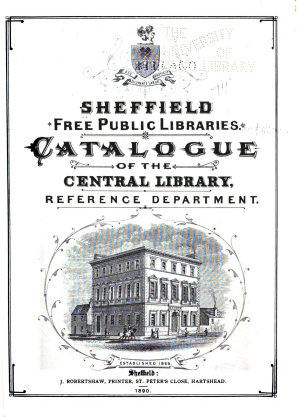 Catalogue of the Central Library PDF