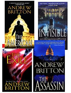 Andrew Britton Bundle  The American  The Assassin The Invisible  The Exile Book