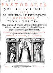Descriptio pastoralis solicitudinis ...: sive de Officio ... Episcopi ...