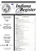 Indiana Register