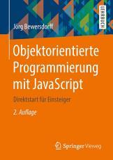 Objektorientierte Programmierung mit JavaScript PDF