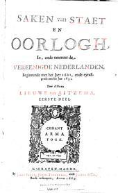 Saken van staet en oorlogh: deel. 1621-1632