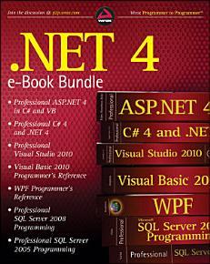 NET 4 Wrox PDF Bundle PDF