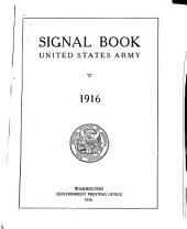 Signal Book, United States Army: 1916