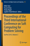 Proceedings of the Third International Conference on Soft Computing for Problem Solving