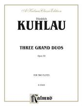 Three Grand Duos: For Flute