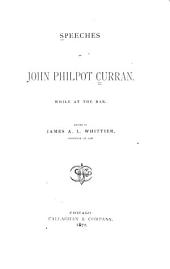 Speeches, While at the Bar