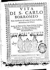 Vita di S. Carlo Borromeo prete cardinale