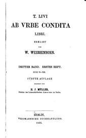 T. Livi Ab vrbe condita libri: Volumes 3-4