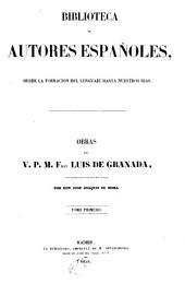 Obras del v. p. m. fray Luis de Granada: Volumen 1