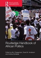Routledge Handbook of African Politics PDF
