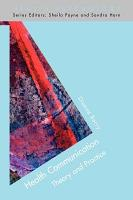 Health Communication  Theory And Practice PDF