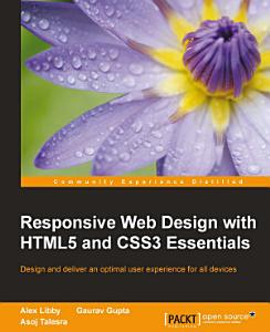 Responsive Web Design with HTML5 and CSS3 Essentials PDF