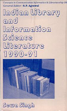Indian Library and Information Science Literature  1990 1991 PDF