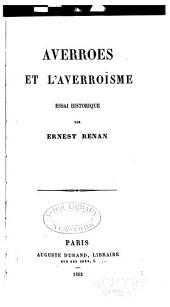 Averroes et l'averroïsme: essai historique