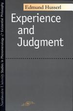 Erfahrung und Urteil